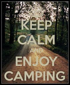 Enjoy camping