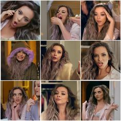 The many faces of Jade in Hair music video
