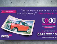 Todd Insurance brand awareness campaign