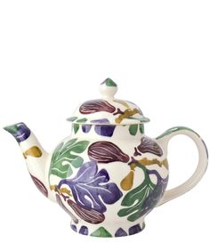 Emma Bridgwater Multicolour Figs Earthenware 4 Cup Teapot   Home   Liberty.co.uk