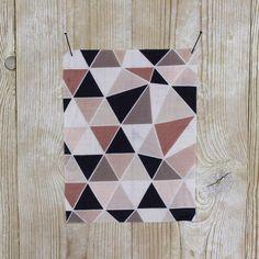 Mosaic Silk/Cotton - Peach
