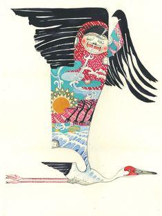 ilustrações criadas por Daniel Mackie