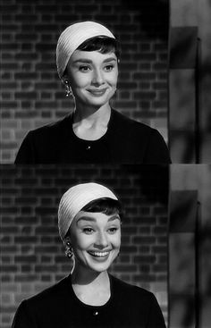 """Why hello there!"" Audrey Hepburn (1929–1993) #happy outtakes. #vintagephoto"
