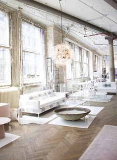 Inspiration in White: ABC Carpet and Home