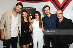 Casey Deidrick, Victoria Justice, Ashley C. Williams, Ryan Cooper and Matthew A. Brown attend the 'Julia' special screening and Q&A on October 23, 2015 in Burbank, California.