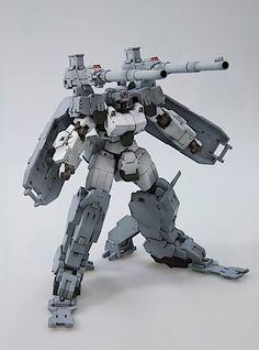 Frame Arms cannon mecha