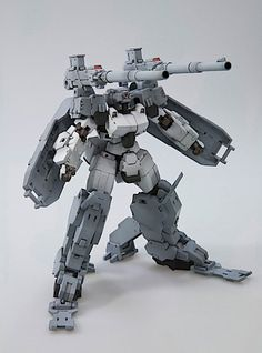 Frame Arms cannon mecha