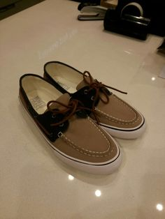 North Coast Canvass Boat Shoes 2 toned… P2,650 at Marks&Spencer :)