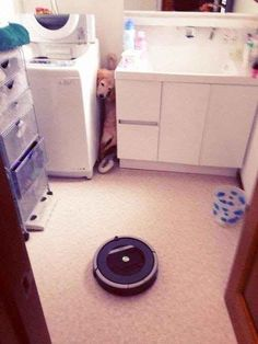 This guy who couldn't handle what the roomba was cookin'.