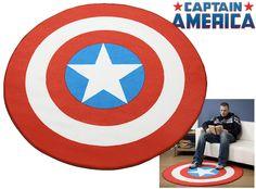 Tapete Escudo Capitão América