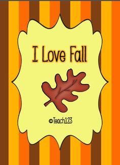 Fall!! My favorite!!