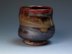 Jack Troy Stoneware Yunomi, Hand Thrown Studio Pottery, Renowned Potter, Teacher and Writer, Collectible Yunomi