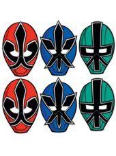 Paper Power Rangers Masks-Party City