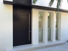 Modern Window Design, House Window Design, Modern Windows, Modern Entrance Door, Home Entrance Decor, House Entrance, House Outer Design, House Front Design, Small House Design