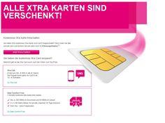 Telekom Xtra Card – Kostenlose Prepaid SIM Karte | Prepaiddealz.de