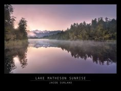 A older shot from 2012. Lake Matheson in New Zealand... A pre-sunrise. https://plus.google.com/+JacobSurland/posts/VE4puXkn8AB