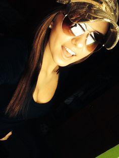 Camo hat n sunglasses. #countrygirllook