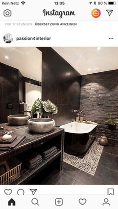 Chic Bathrooms, Dream Bathrooms, Apartment Listings, Bathroom Goals, New House Plans, Dream Decor, Bath Remodel, Contemporary Decor, Home Decor Styles