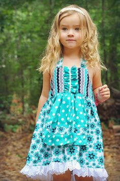 Girls Dress Sewing Tutorial, Pdf Sewing Pattern, INSTANT DOWNLOAD, Apron Dress for Toddler, Children, Kids, Apron Dress