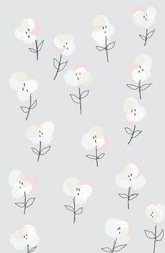//by Ashley Goldberg - flores feitas com rolhas de vinho sobre desenho manual