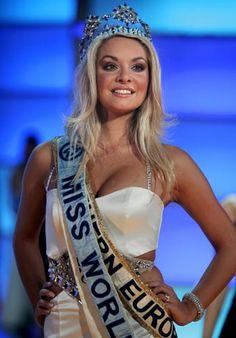 Tatana Kucharova, Miss World