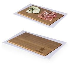 Enigma Cutting Board and Serving Tray - NFL Super Bowl 51 Edition by Picnic Time Cowboys Gifts, Party Platters, Picnic Time, Jacksonville Jaguars, Atlanta Falcons, Minnesota Vikings, Chicago Bears, New York Giants, Tray Decor
