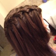 Ari's waterfall braid