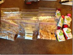 For the Kids: Underachiever's Homemade Lunchables. Grilled, chopped chicken, sliced cheese, crackers, and Fruit Buddies. And they love it!