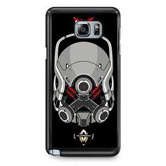 Mass Effect Cerberus Guardian TATUM-6989 Samsung Phonecase Cover Samsung Galaxy Note 2 Note 3 Note 4 Note 5 Note Edge