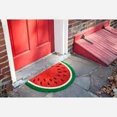 Entryways Watermelon Non Slip Coir Doormat for sale online Coir Doormat, Style Deco, Ideias Diy, Welcome Mats, Home And Deco, Interior And Exterior, Sweet Home, Room Decor, Kids Rugs