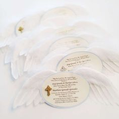 Angel themed baptism Baptism Party Ideas | Photo 9 of 21 | Catch My Party