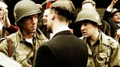 Winters and Nix in Holland - Band of Brothers (2001)