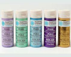 Martha Stewart Crafts Mad About Color April 2014 Palette - click thru to shop - #marthastewart #marthastewartcrafts #plaidcrafts #diy #crafts #12Monthsofmartha