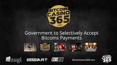 http://BitcoinCasino365.com - The online businesses like retail trading and live casino gaming have accepted bitcoins as their mode of payment. But it is surprising that many states in the US and selective countries around the world have begun to accept bitcoins for tax payments.  Now available a total welcome bonus package of 1200m Bitcoins register today at BitcoinCasino365.com. Visit - http://BitcoinCasino365.com