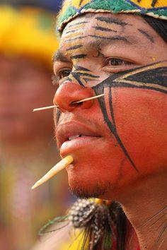 X Jogos dos Povos Indígenas - Patachó by Oswaldo Forte, via Flickr