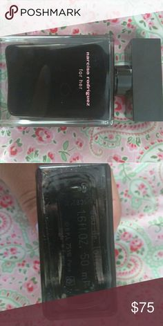Narciso Rodriguez perfume. Full size! 1.6 oz, out of box, never used, designer perfume. Musky, floraly, light, stays on Narciso Rodriguez Makeup