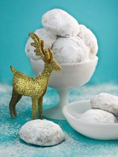 Sprinkle Bakes: Snowball Cookies & Icicle Candy