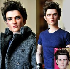 Doll Repaint - Twilight Edward by noeling.deviantart.com on @deviantART