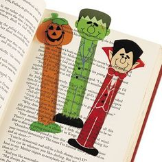 Halloween Character Ruler Bookmarks - Party and Events Oriental Trading Company