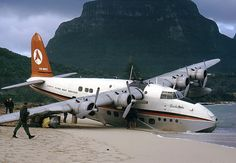 Lord Howe Island -  flying boat. One of the survivor aircraft now resides at Oakland international airport in a museum.