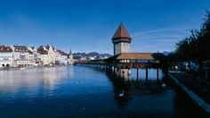 walked this bridge in Luzerne, Switzerland summer take me back! Switzerland Summer, Switzerland Tourism, Lucerne Switzerland, Vacation Places, Vacation Spots, Places To Travel, Places To See, Beautiful World, Beautiful Places