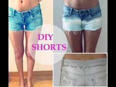 DIY Shorts- renueva tus pantalones cortos