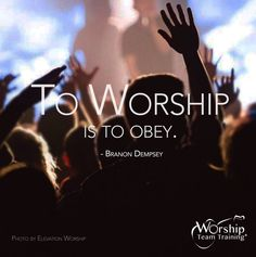 When our hearts are humbled, we experience His presence. Our eyes become open to the wonder of His love. Doesn't this give you more reason to recognize His presence and to share it with others?  May we lead people in the way God leads us: to worship is to obey.  #BranonDempsey  Does your church desire to be led a worship service that they will remember and be further inspired? Get a #PowerWorkshop to equip your worship team with practical hands-on training that comes to you!! Sign up today at: h