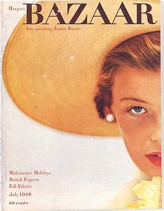 Vintage Bazaar Magazine Covers