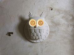 The Owl Lamp – Fubiz™