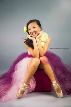 """Olivia photographed by Monica Hahn in my pink """"frock"""""""