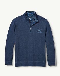 39bec3e3123 Main Image for Big   Tall Limited-Edition Nassau Half-Zip Sweatshirt Nassau