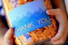 free printable tag for a cute swim teacher thank you!