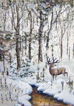 Картины на бересте, Дьяков мастерская , Галерея