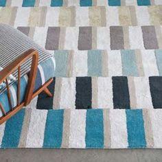 Designers Guild rug Uppsala Teal